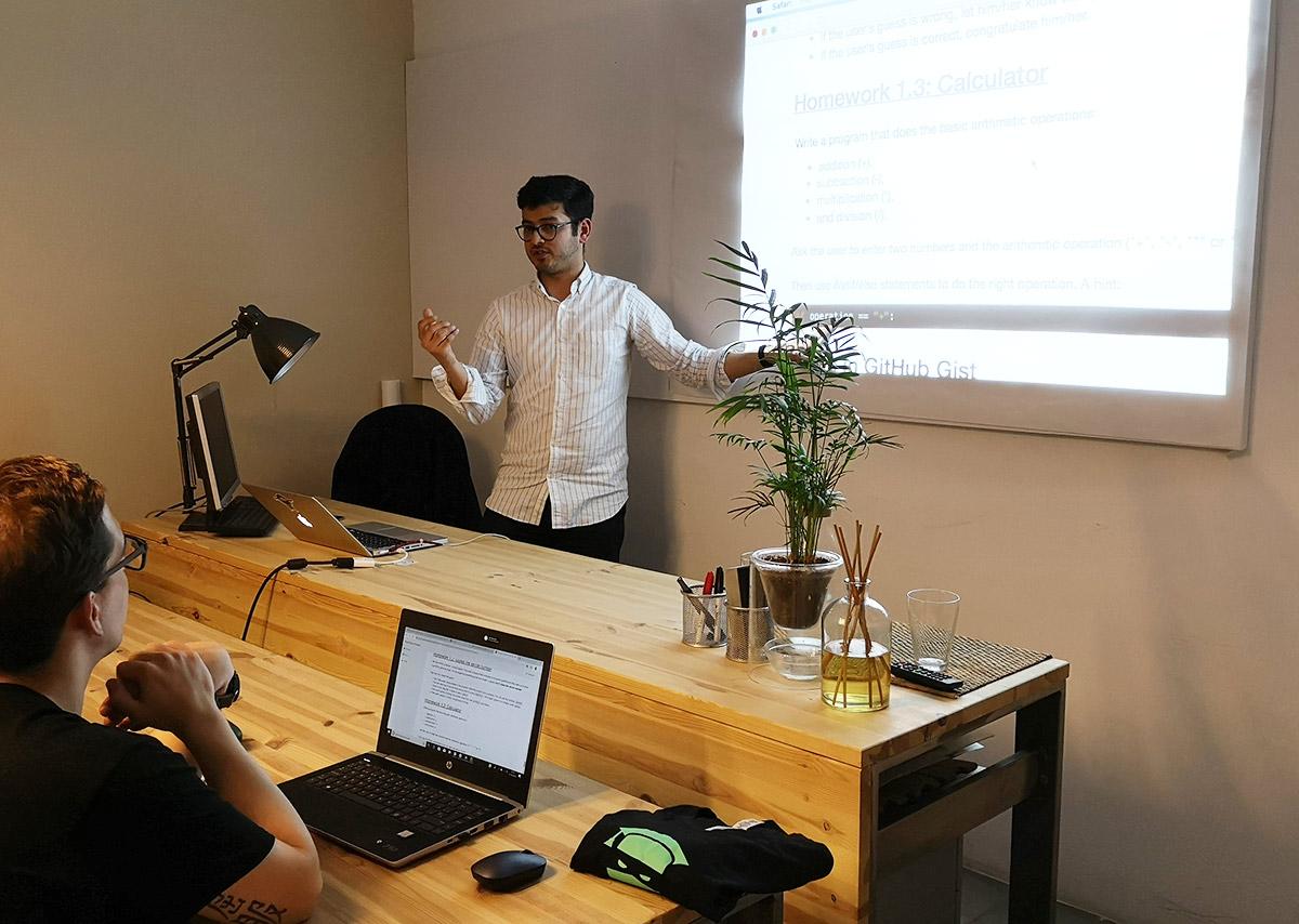 Curso de Python en nuestra Escuela de Programación Smartninja en Barcelona