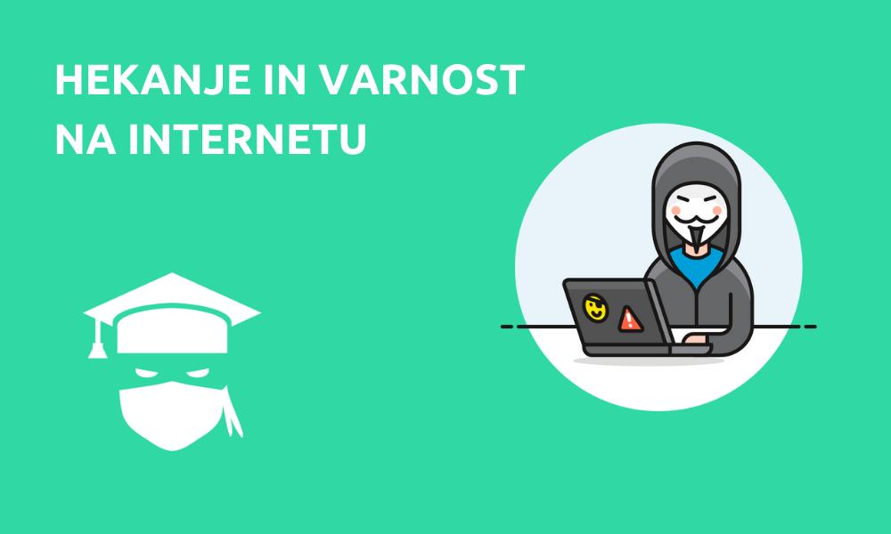 Hekanje in varnost na internetu (online)