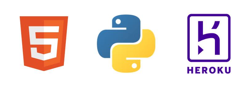 HTML Python Heroku