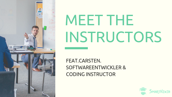 Meet the SmartNinja Instructors | Feat. Carsten