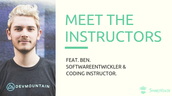 Meet the SmartNinja Instructors | Feat. Ben