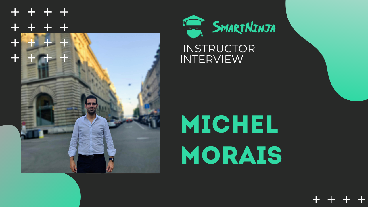 Conheça o nosso instrutor ninja - Michel Morais