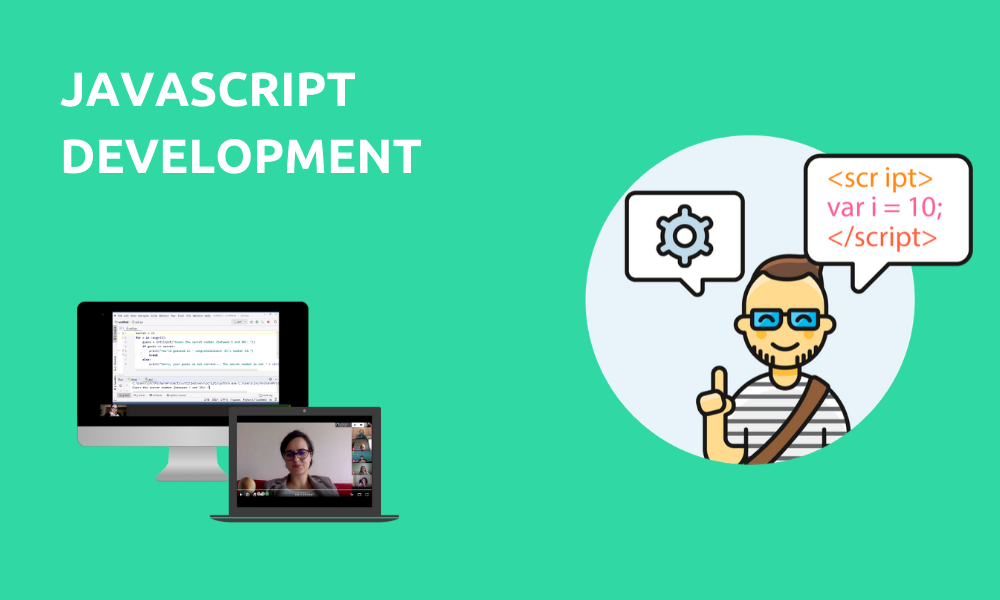 JavaScript development (Livestream Gruppenkurs)