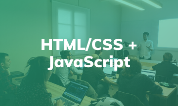 HTML/CSS + JavaScript | Curso Presencial en Barcelona