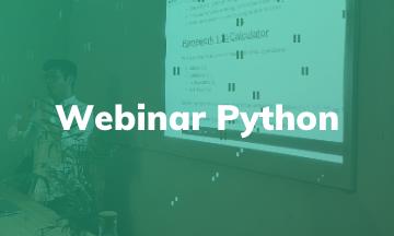 Webinar Gratis | Python