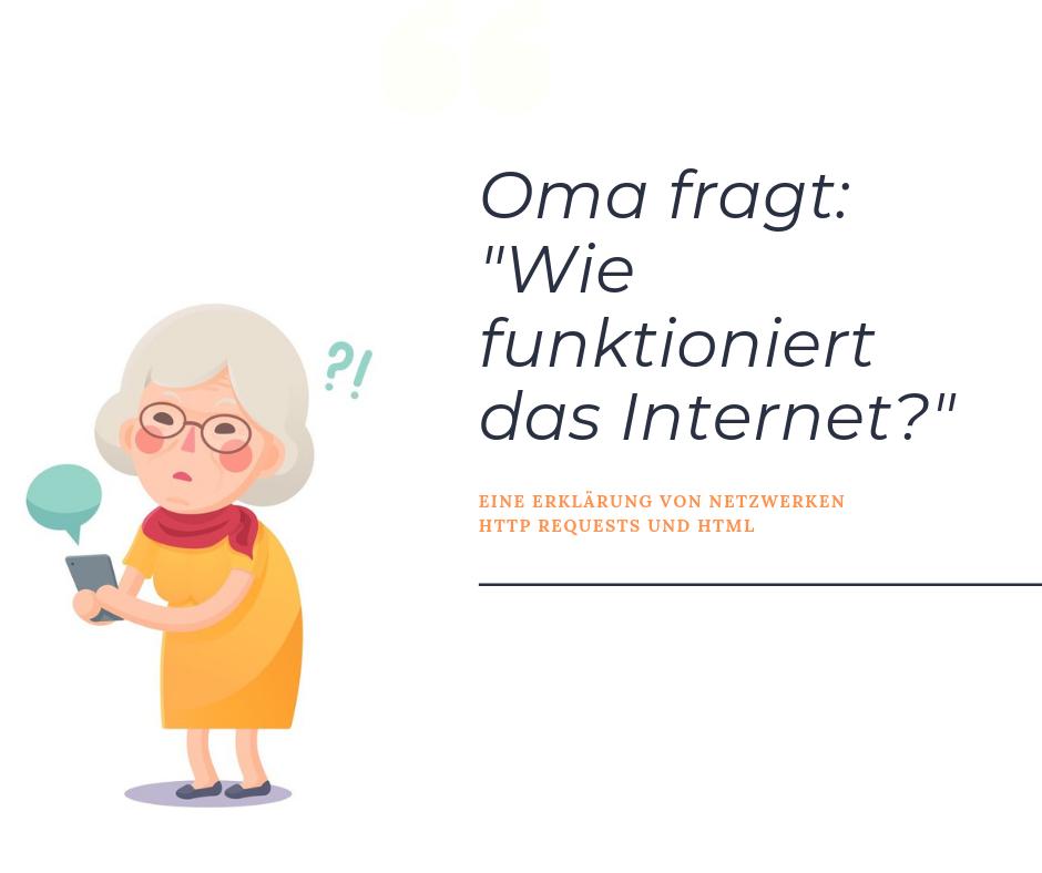Oma fragt: