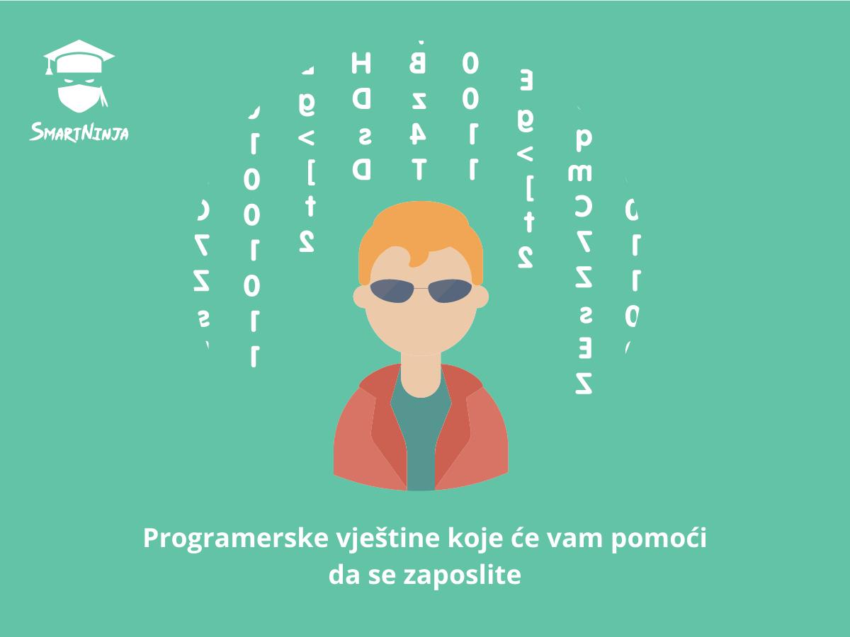 Programerske vještine koje će vam pomoći da se zaposlite