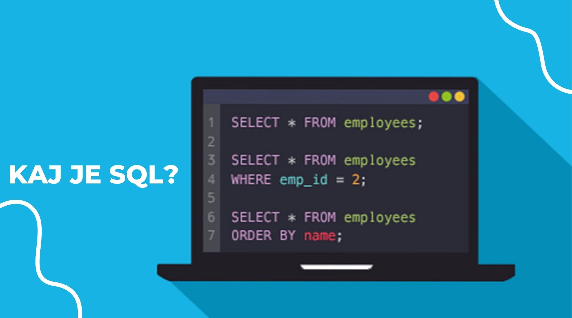 Kaj je SQL in kje ga lahko uporabimo?