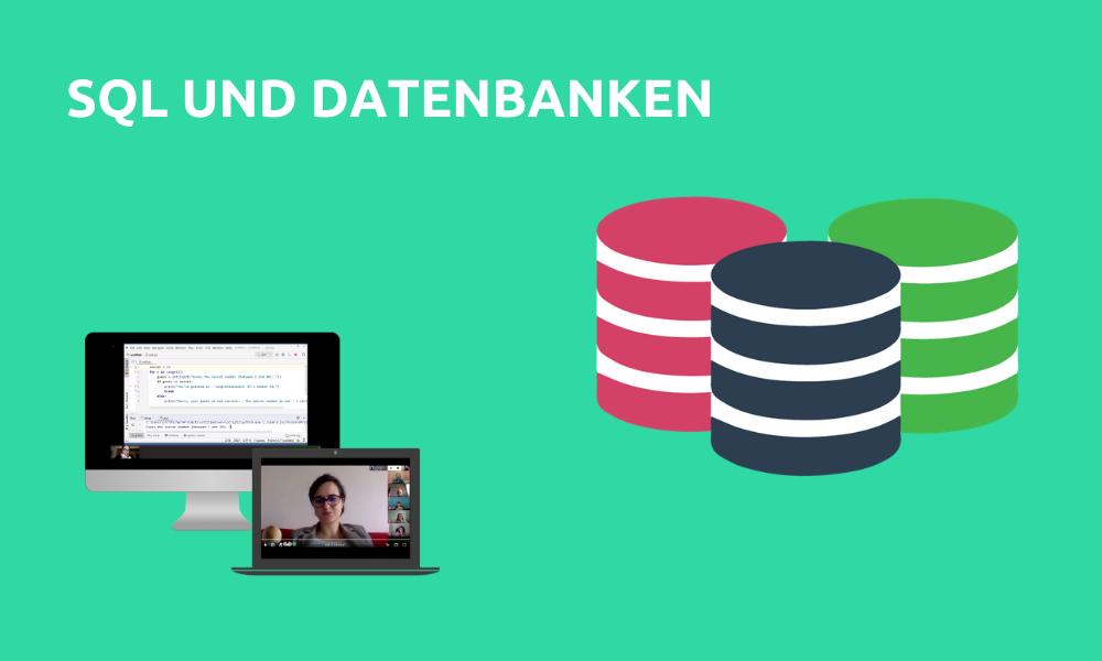 SQL und Datenbanken (Livestream Gruppenkurs)