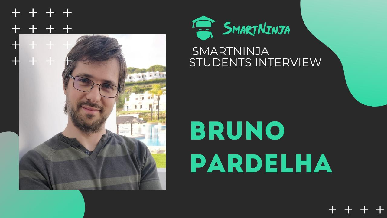 Conheça o nosso aluno ninja - Bruno Pardelha