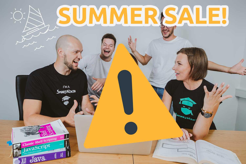 SUMMER SALE (33% Rabatt für Kurse im Juli!)