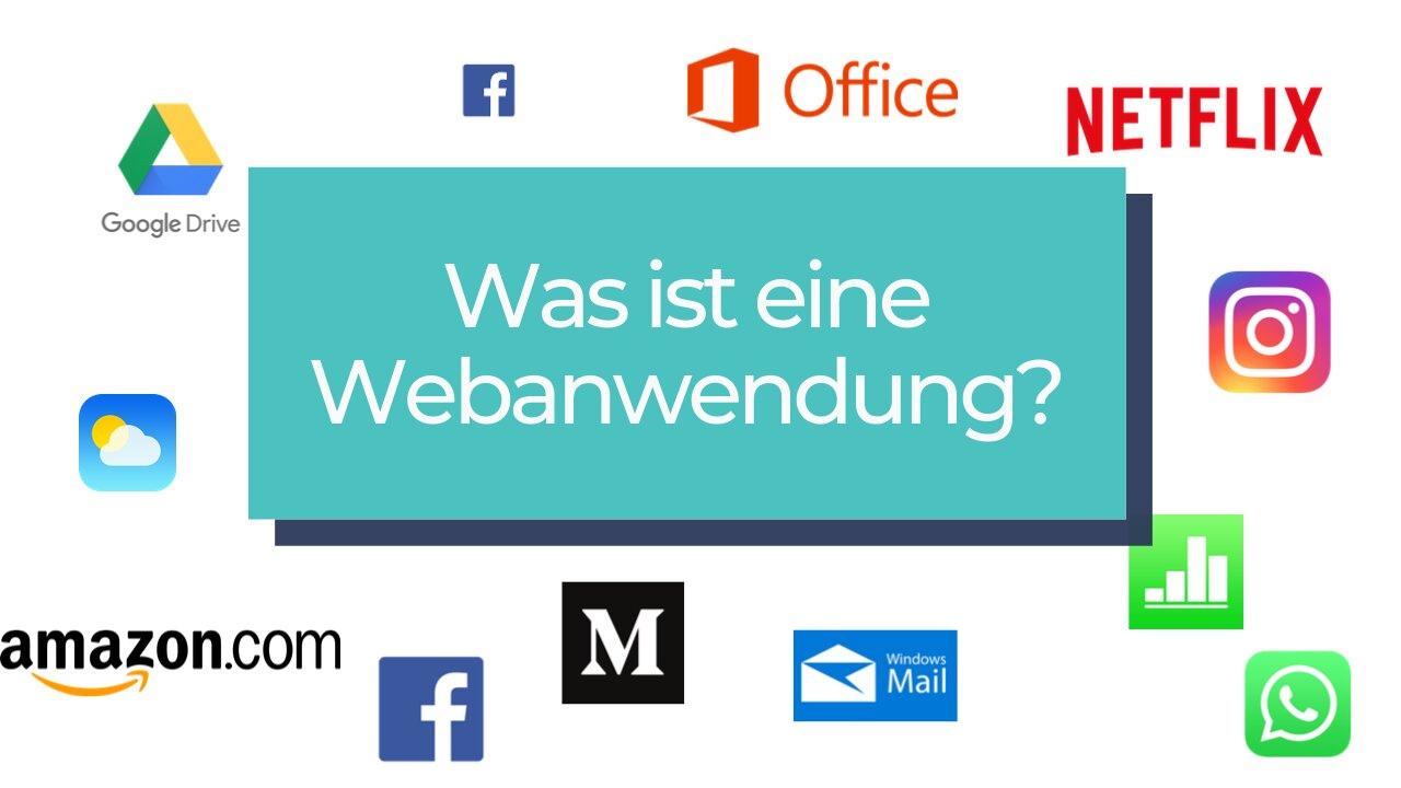Oma fragt: Was ist eine Web-Anwendung?