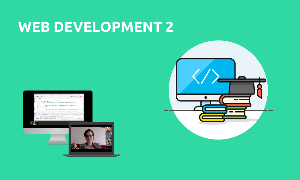 Web development 2 (Livestream Gruppenkurs)