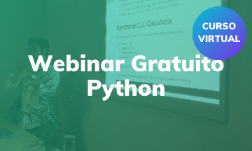 Webinar Gratuito | Introducción en Python