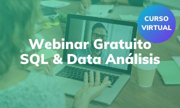 Webinar Gratuito | Introducción en SQL & Análisis de Datos