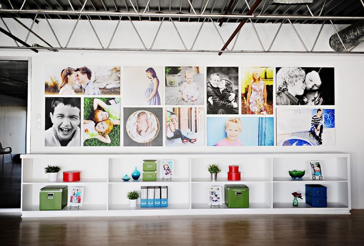 Photos sur Toile : assemblage de plusieurs toiles de formats variés