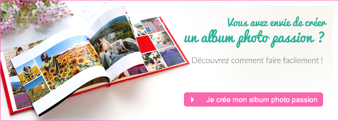 Album photo passion CTA
