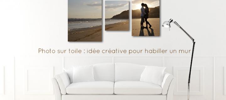 Photo sur toile : idée créative pour habiller un mur
