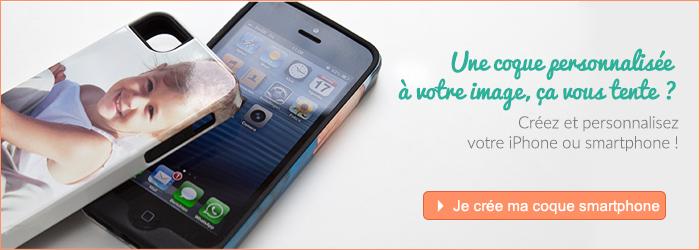 coque personnalisée iphone