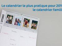 Calendrier 2015 le plus pratique : le calendrier familial