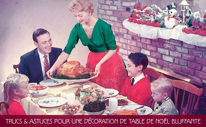 decoration table de noel bluffante cover