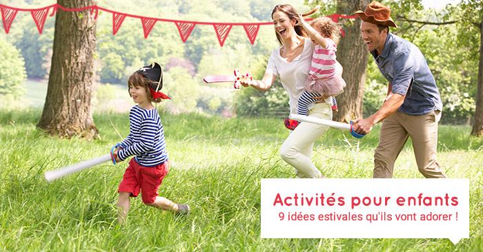activités pour enfants été