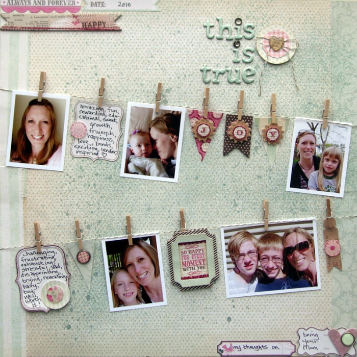album photo scrapbooking