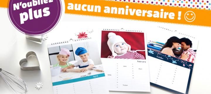 Calendrier anniversaire personnalisé : 7 astuces pour sublimer votre calendrier