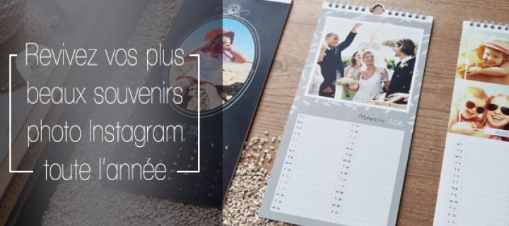 Un calendrier personnalisable resplendissant grâce à vos photos Instagram !
