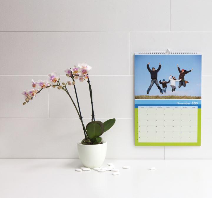 calendrier anniversaire personnalisé