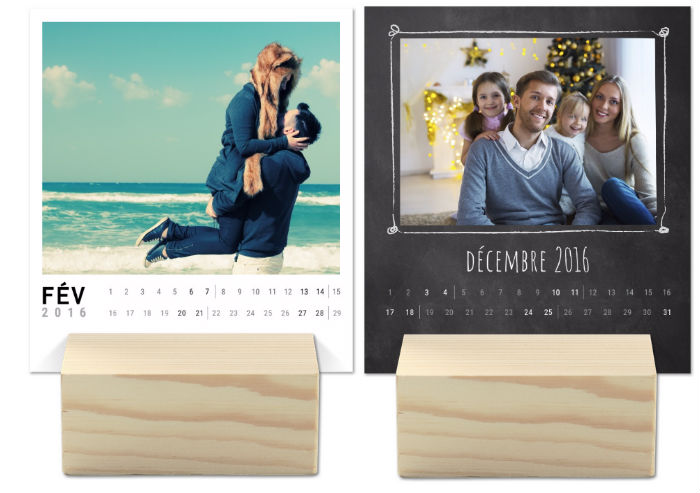calendrier personnalise 2016