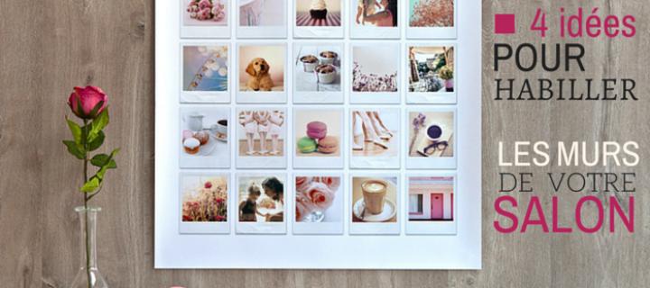 Décoration murale salon : 4 idées pour habiller vos murs blancs