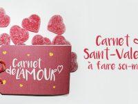 Idée cadeau Saint-Valentin à faire soi-même : le carnet de l'amour