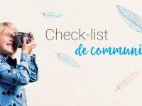 La checklist qu'il vous faut pour organiser votre communion