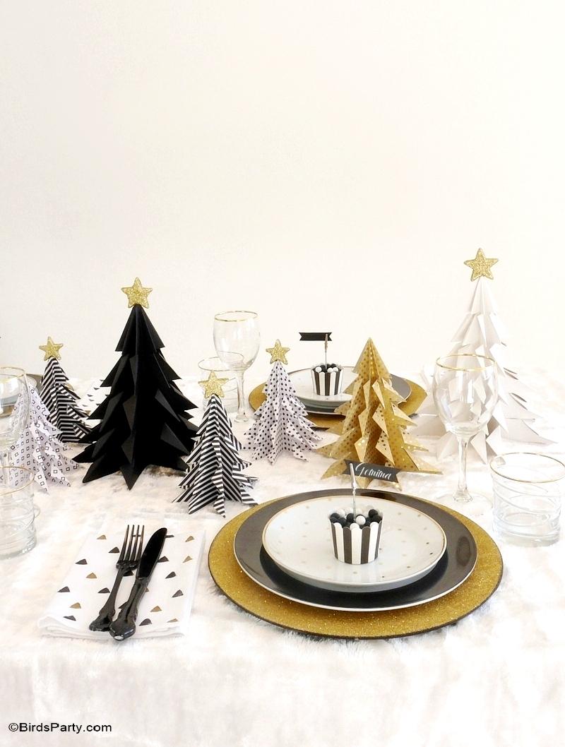 décoration pour Noël: décoration en origami