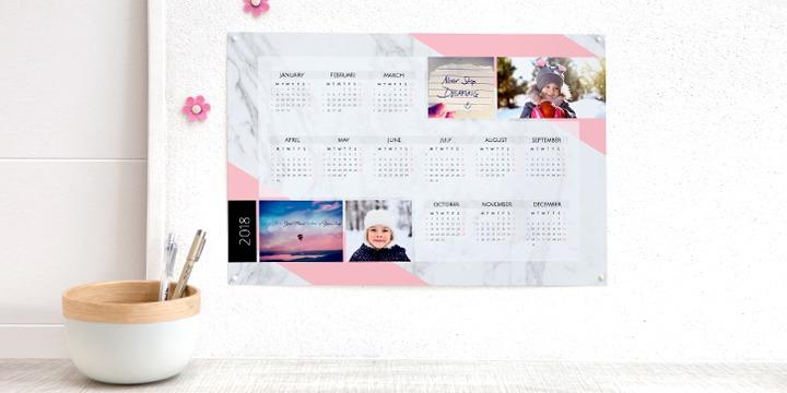 calendrier personnalisé avec photos