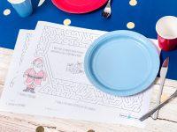 Set de table jeu enfant : occupez vos petits bouts à table