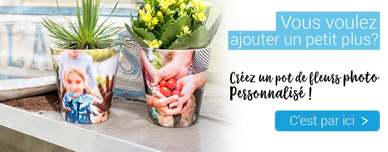 Créez un pot de fleurs personnalisé - fleurs pour la fête des mères