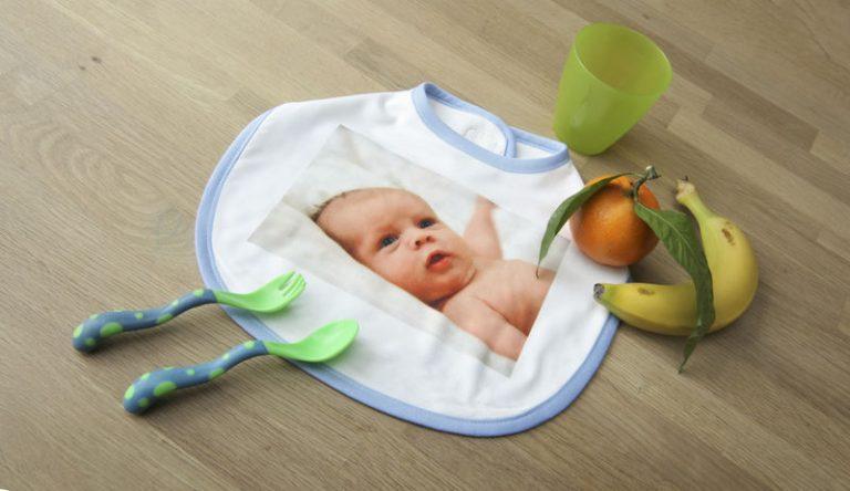 Lätzchen personalisiert mit Foto