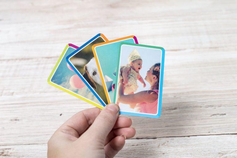 Personalisierte Kartenspiele für die Ferien