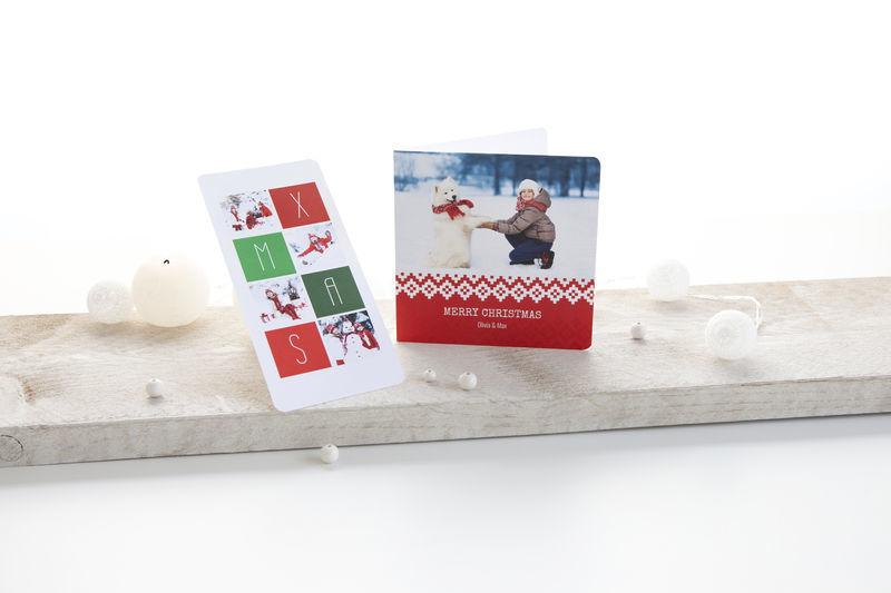 Bonne année, meilleurs voeux - carte de Noël