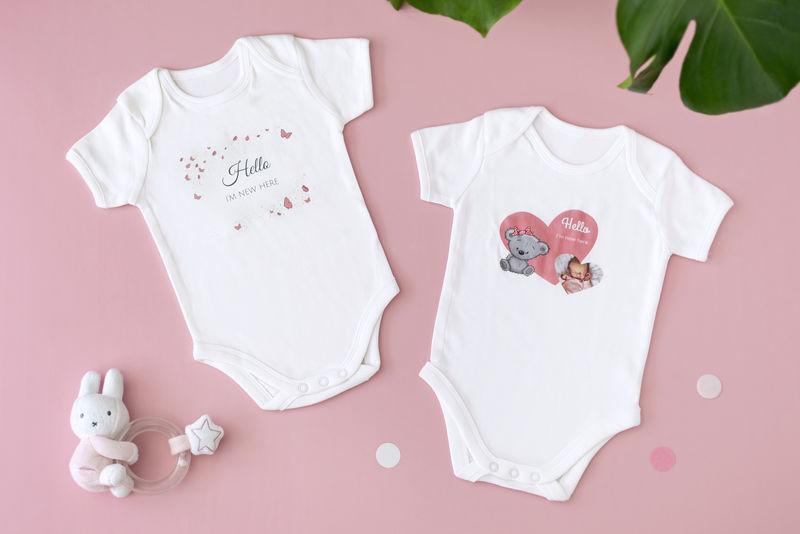 cadeau de naissance original : body bébé personnalisé