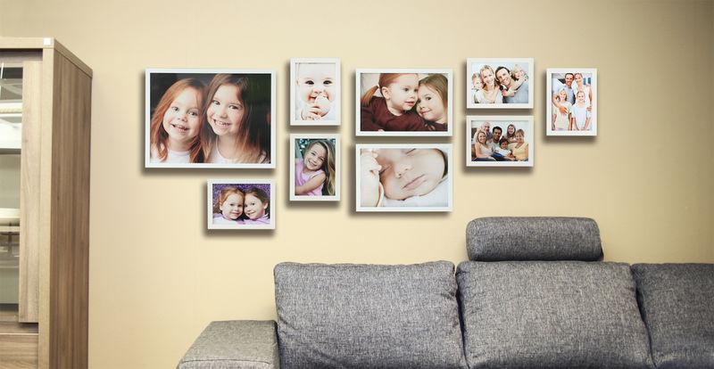 Imprimer des photos - agrandissements encadrés