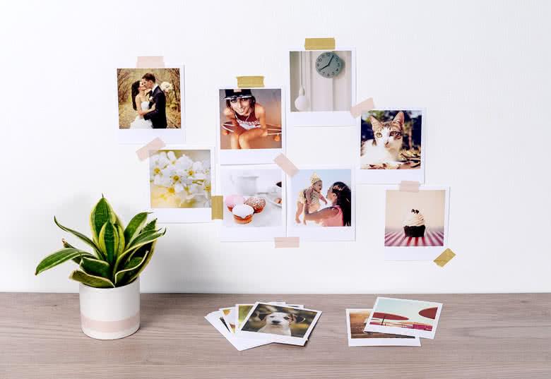 Imprimer des photos - souvenirs suspendus