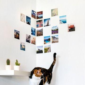 Imprimer des photos - déco murale tirages photo carrés