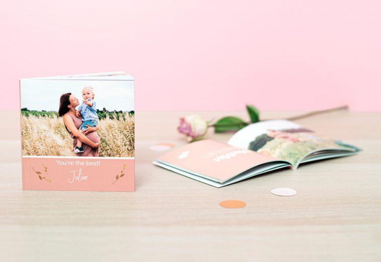 Livret personnalisable à offrir pour la fête des mères