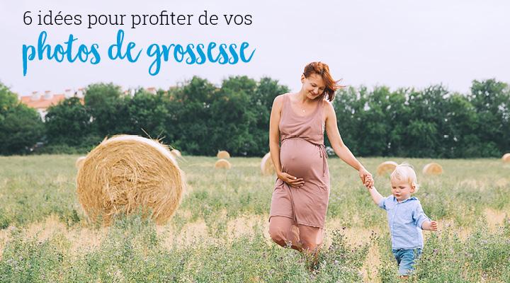 6 idées pour profiter de vos photos de grossesse