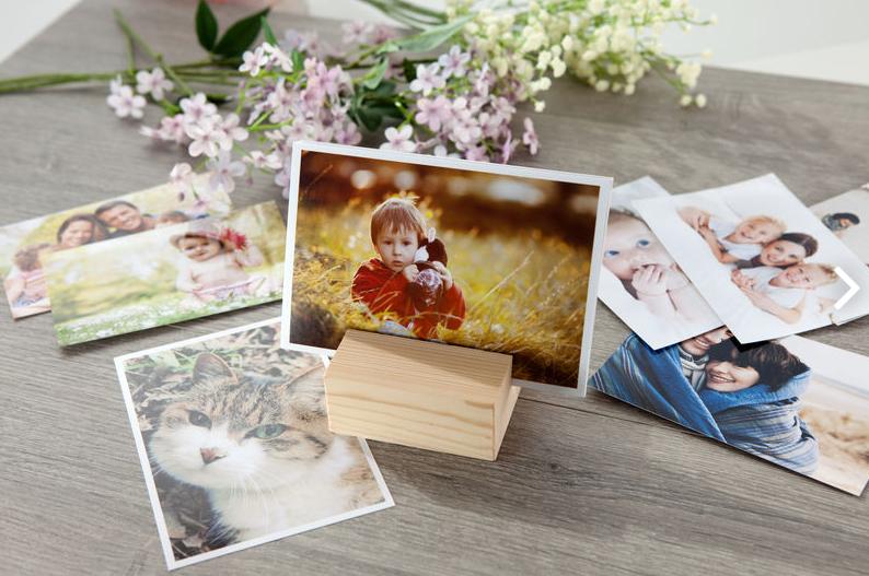Porte-photo design à personnnaliser avec vos propres photos