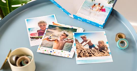 Prints in a box pour Mamie, un cadeau fête des grand mères sympa et facile !