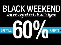 Black Friday + Cyper Monday = Black Weekend!
